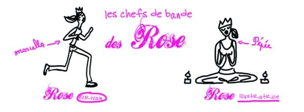 bannière rose wwordpress