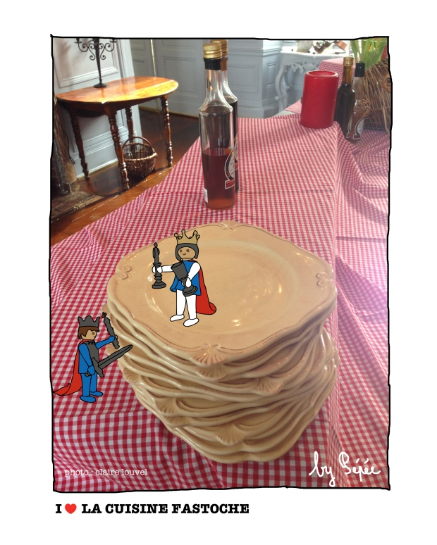 table playmobile by fastoche