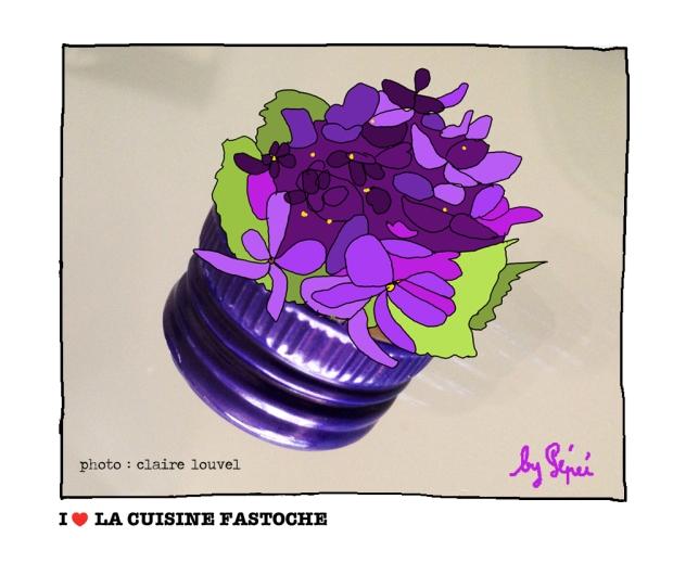 un bouquet de violettes by fastoche