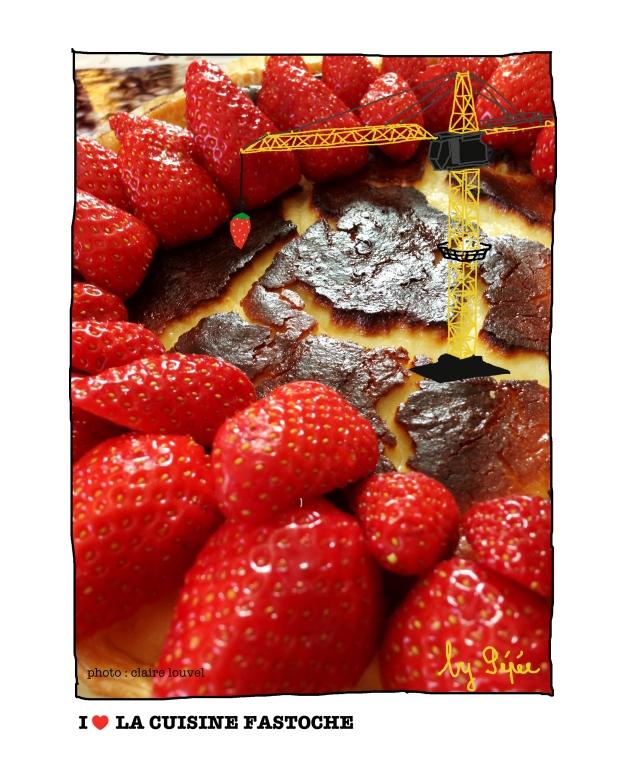 tarte aux frais en progress by fastoche
