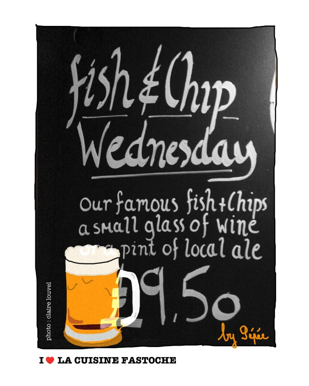 fish&chips&beer by fastoche