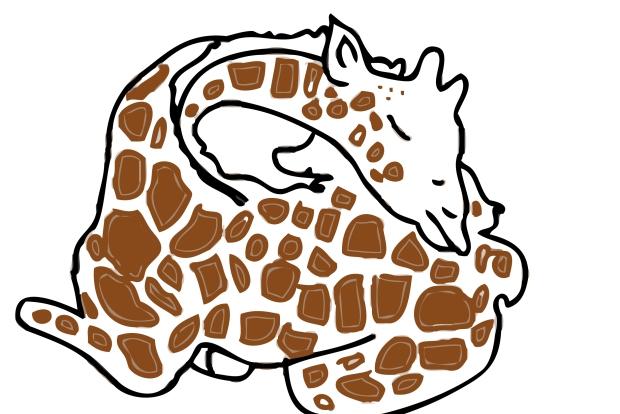 bŽbŽ girafe