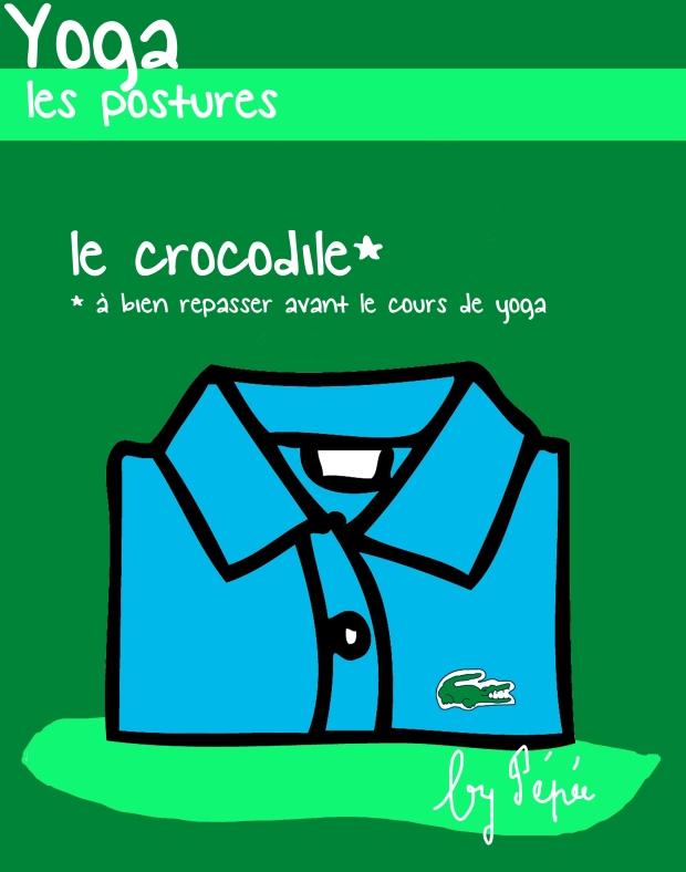 yoga le crocodile