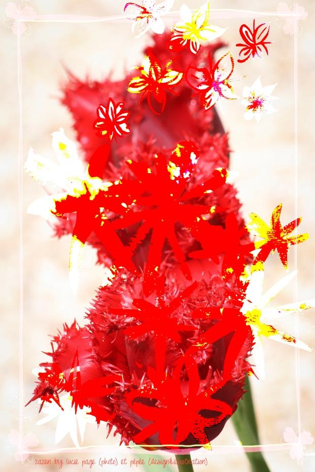 fleur aqurelle